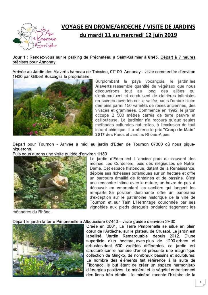 Voyage En Drôme Ardèche 11 Et 12062019